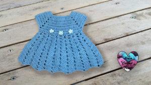 Robe Céleste Lidia Crochet Tricot