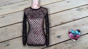 Pull Résille Lidia Crochet Tricot