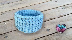 Corbeille TrapiXL tourbillon Lidia Crochet Tricot
