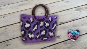 Sac léopard Lidia Crochet Tricot