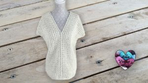 Blouse dentelle Lidia Crochet Tricot