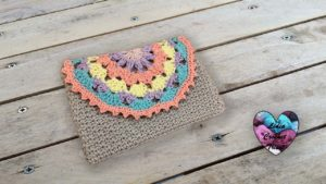 Pochette Alma Lidia Crochet Tricot