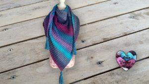 Châle dentelle Lidia Crochet Tricot