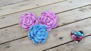 Mini fleurs Lidia Crochet Tricot
