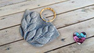 Panier feuilles Lidia Crochet Tricot
