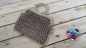 Sac à main Frou Frou Lidia Crochet Tricot