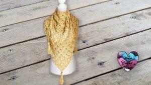 Châle Soleil Lidia Crochet Tricot