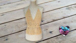 Top Boho Lidia Crochet Tricot