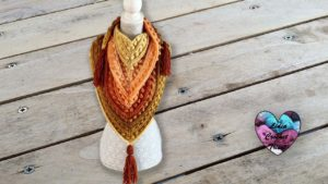 Châle Indiana Lidia Crochet Tricot