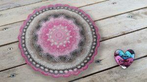 Tapis Love Lidia Crochet Tricot