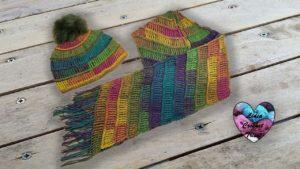 Écharpe bonnet Amazonie Lidia Crochet Tricot