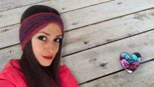 Headband Bandeau crochet Lidia Crochet Tricot