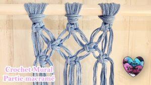 Crochet mural partie macramé Lidia Crochet Tricot