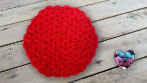 Point Jasmin en rond Lidia Crochet Tricot