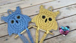 Hiboux crochet Lidia Crochet Tricot