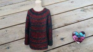 Pull Diva Lidia Crochet Tricot