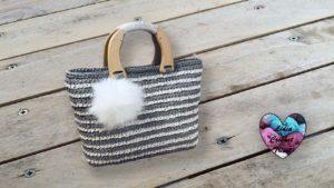 Sac Rustique crochet Lidia Crochet Tricot