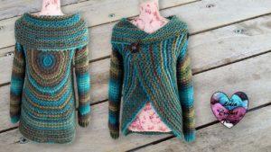 Gilet Hypnose Mandala Lidia Crochet Tricot