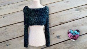 Écharpe 3 en 1 Lidia Crochet Tricot