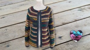 Gilet 1000 cocoons Lidia Crochet Tricot