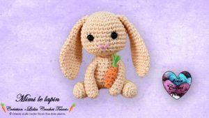 Mimi le lapin Lidia Crochet Tricot