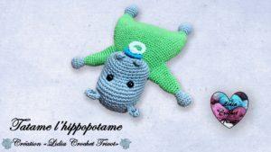 Tatame l'hippopotame Lidia Crochet Tricot