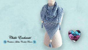 Châle Enchanté Lidia Crochet Tricot