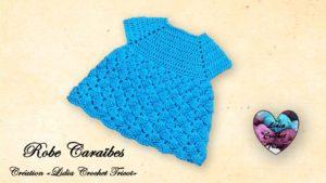 Robe Caraïbes Lidia Crochet Tricot