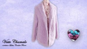 Gilet Chamalo Lidia Crochet Tricot