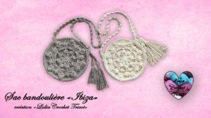 "Sac bandoulière ""Ibiza"" Lidia Crochet Tricot"