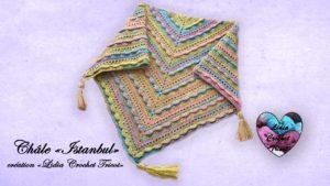Châle Istanbul Lidia Crochet Tricot