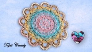 Tapis Candy Lidia Crochet Tricot