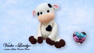 "Vache ""Lovely"" Lidia Crochet Tricot"