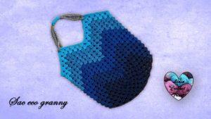 Sac Eco granny Lidia Crochet Tricot