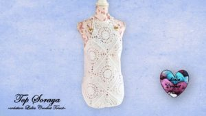 Top Soraya Lidia Crochet Tricot