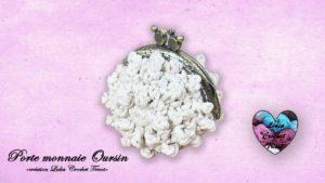Porte-monnaie Oursin Lidia Crochet Tricot