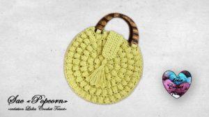 Sac Popcorn Lidia Crochet Tricot