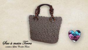 Sac Terra Lidia Crochet Tricot