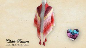 Châle Passion Lidia Crochet Tricot
