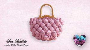 Sac Bubble Lidia Crochet Tricot