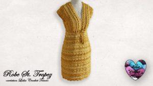 Robe St. Tropez Lidia Crochet Tricot