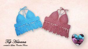 Top Havana Lidia Crochet Tricot