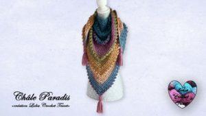 Châle Paradis Lidia Crochet Tricot