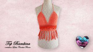 Top Bambina Lidia Crochet Tricot