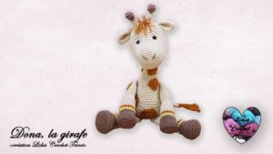 Dona la girafe Lidia Crochet Tricot