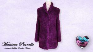 Manteau Prunelle Lidia Crochet Tricot