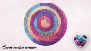Cercle crochet tunisien Lidia Crochet Tricot