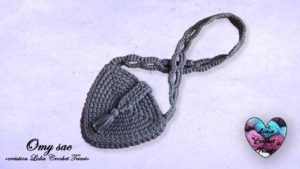 Omy sac Lidia Crochet Tricot