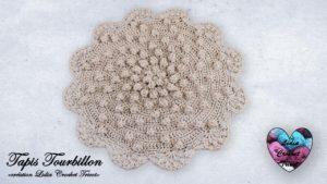 Tapis Tourbillon Lidia Crochet Tricot