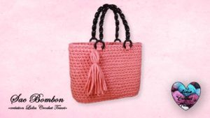 Sac Bombon Lidia Crochet Tricot